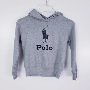 Polo Logo Hoodie Sweatshirt Size Medium